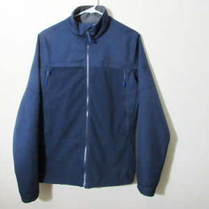 Mountain Hardwear Navy Gore Windstopper Mens Small